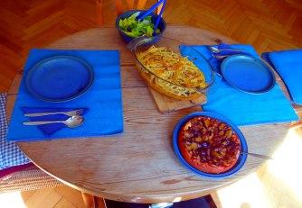 Pastizio,Makkaroni Auflauf,Pflaumenkuchen (13)