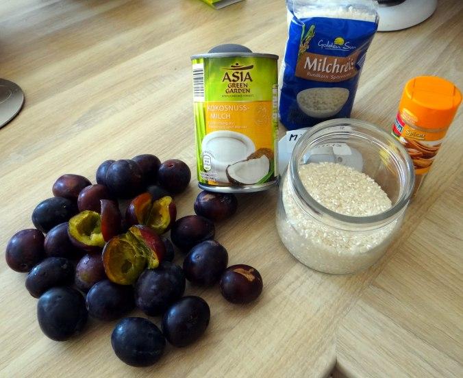 Reisbrei,Pflaumenkompott,Smoothie,vegetarisch (6)