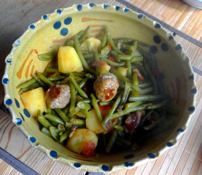 Bohnen Eintopf,Obstteller (11)
