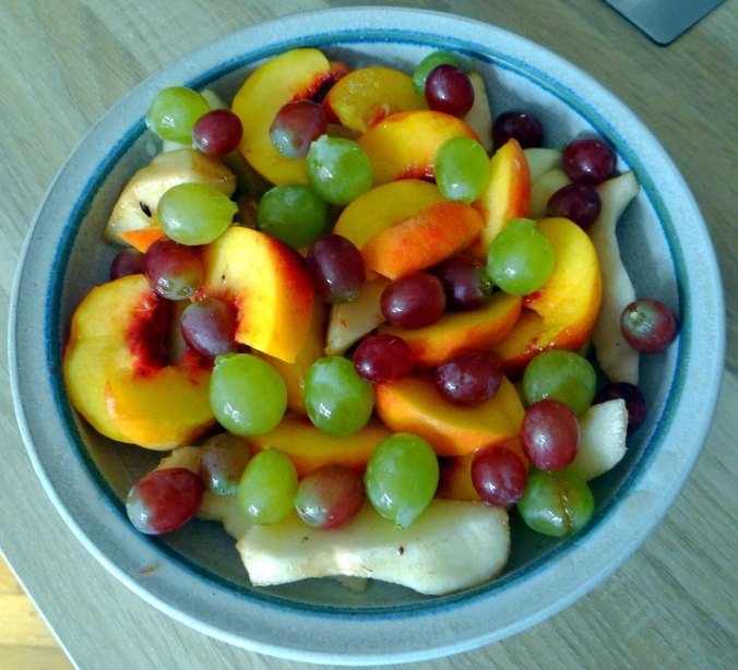 Bohnen Eintopf,Obstteller (6)