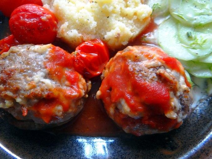 Gefüllte Portobello mit Couscous (3)