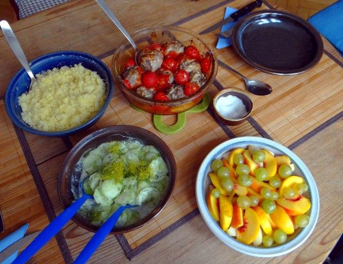 Gefüllte Portobello mit Couscous (5)