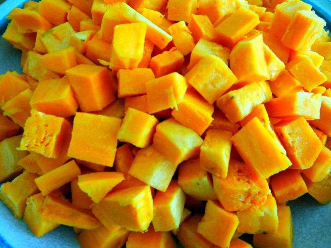 Glasierte Süßkartoffeln und Ofengemüse (7)