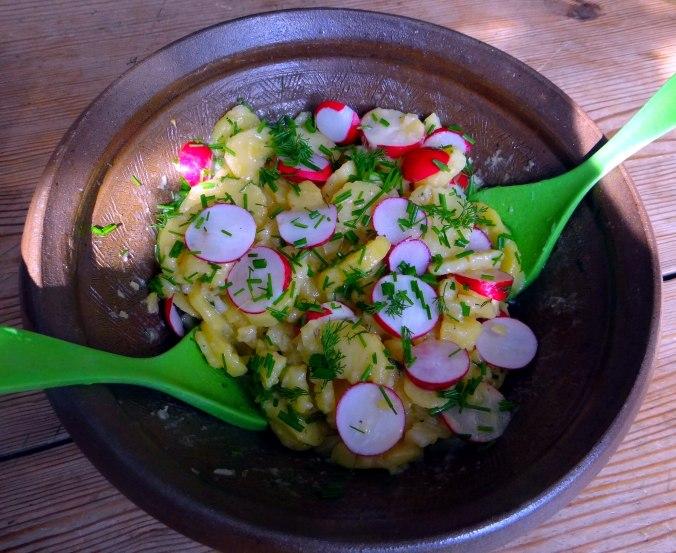 Kartoffelsalat,Rührei (5)