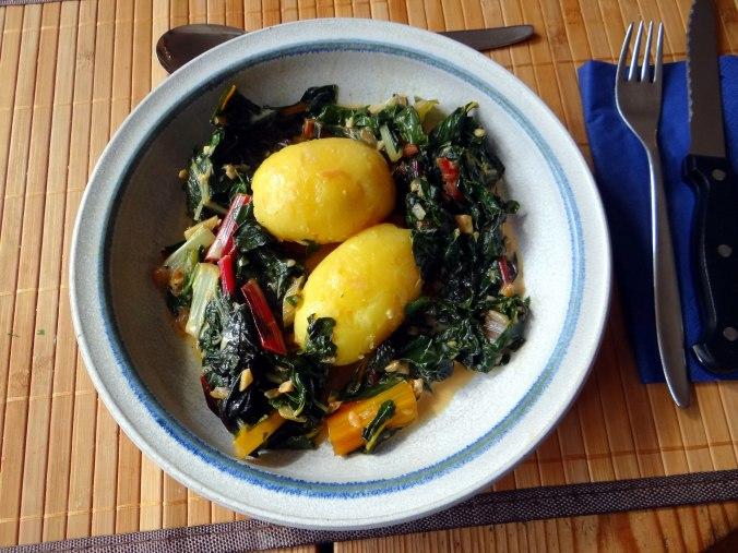 Mangold,Pellkartoffeln,Frische Feigen,Vegetarisch (13)