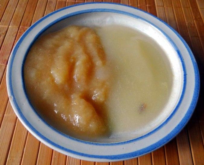 Pastinaken Pommes,Champignon,Ei,Salat,Birnenmus 1 (5)