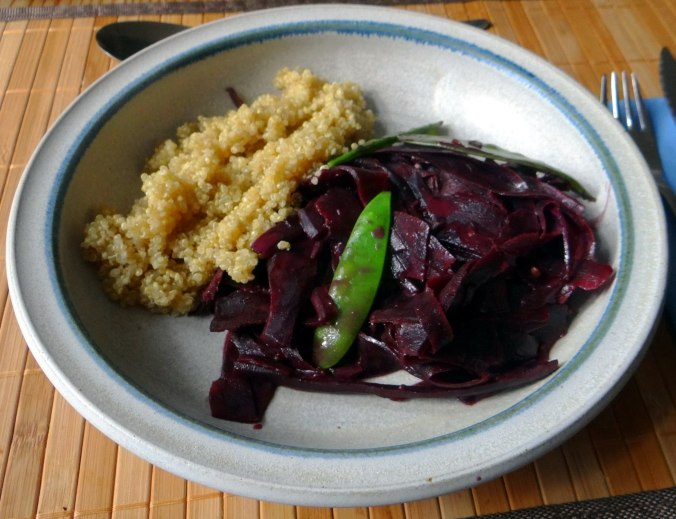 Schwarze Möhren mit weißem Quinoa (12)