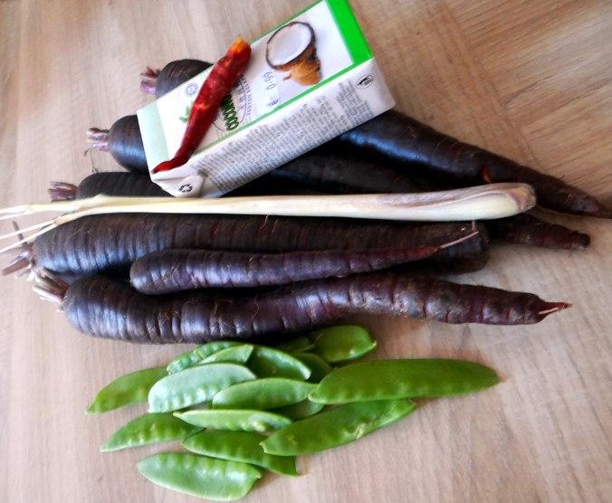 Schwarze Möhren mit weißem Quinoa (6)
