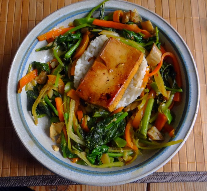 Senfgrün,Reis,Tofu,vegan (2)