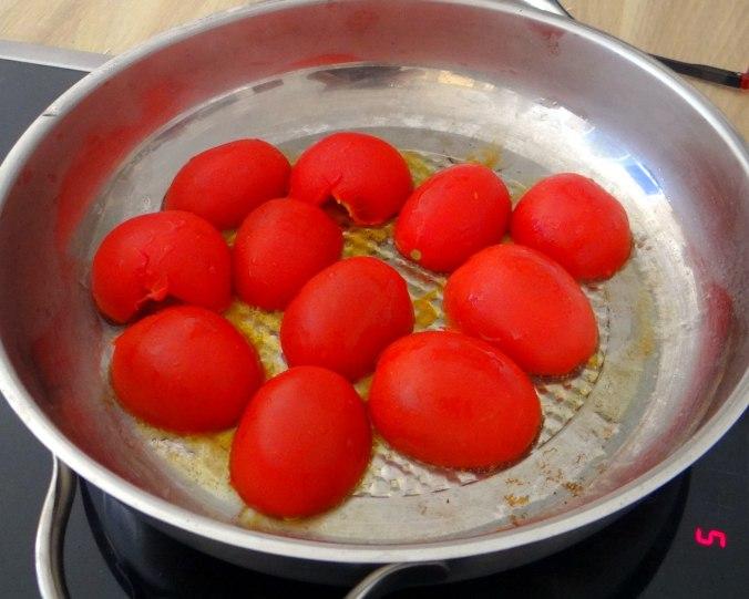 Spaghetti mit zweierlei Muscheln,Apfelkompott (7)