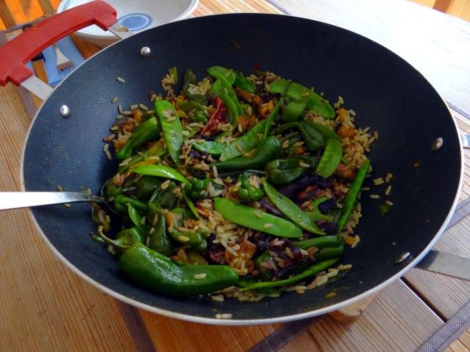Wokgemüse mit Reis (19)