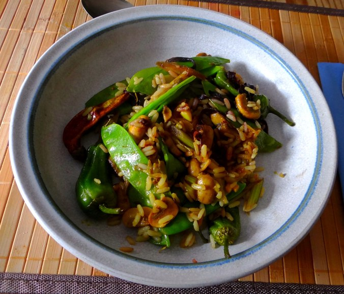 Wokgemüse mit Reis (2)