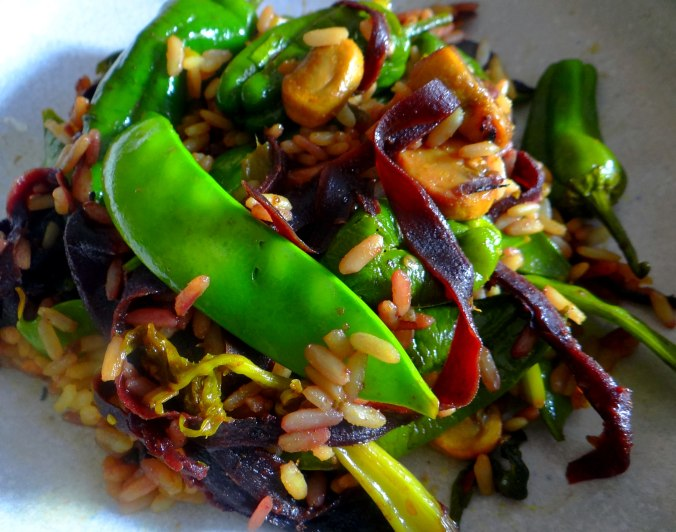 Wokgemüse mit Reis (3)