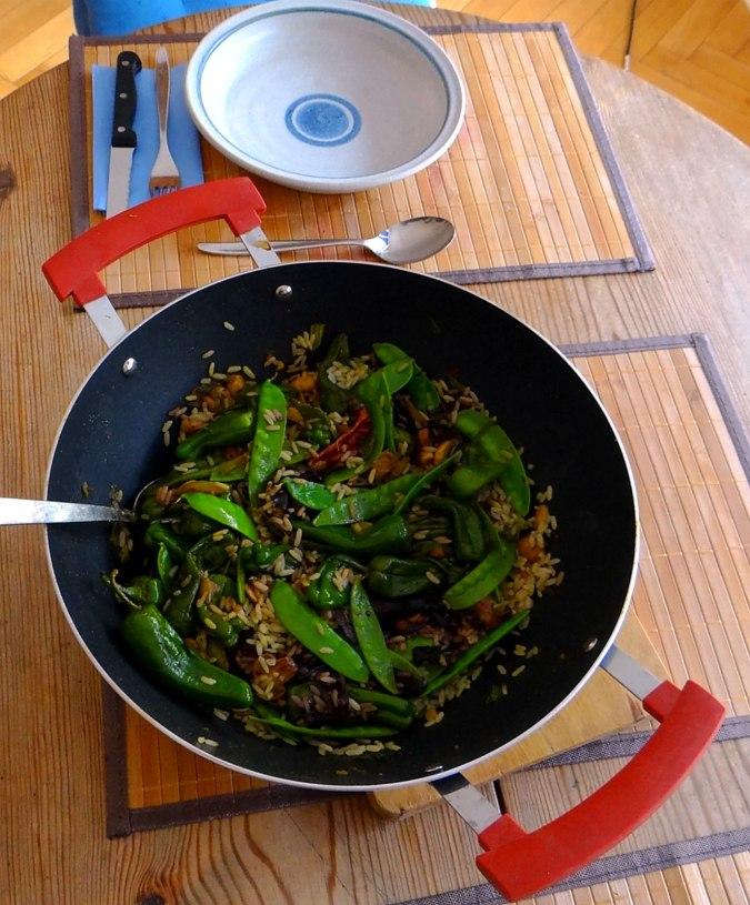 Wokgemüse mit Reis (4)