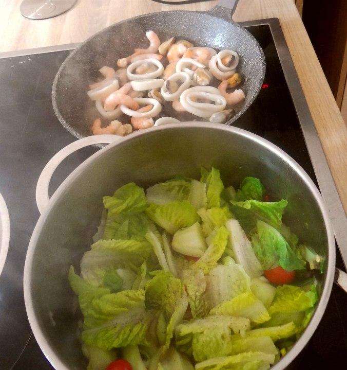 Meeresfrüchte,Pak Choi,Reis (7)