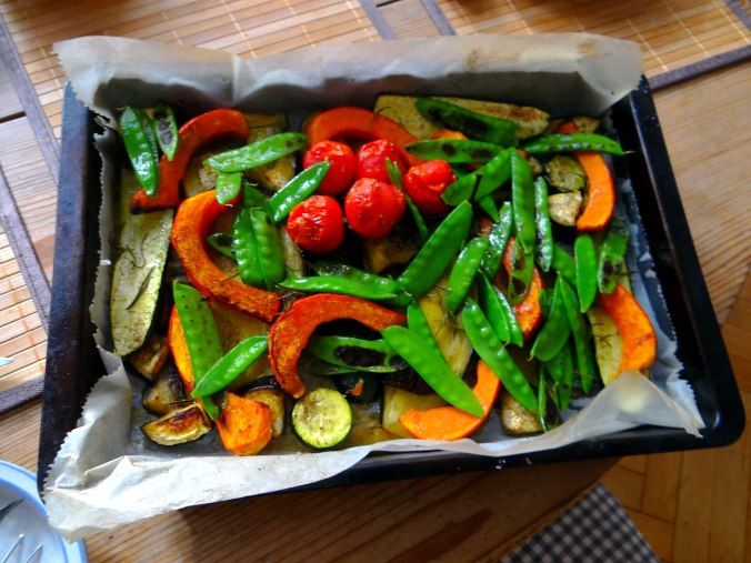 Ofengemüse,Lila Kartoffeln,Joghurt Dip (13)
