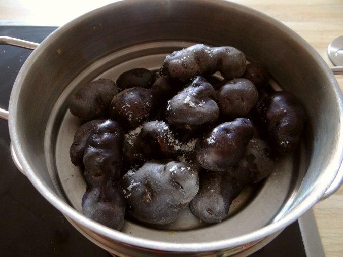 Ofengemüse,Lila Kartoffeln,Joghurt Dip (8)