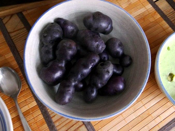 Ofengemüse,Lila Kartoffeln,Joghurt Dip (9)