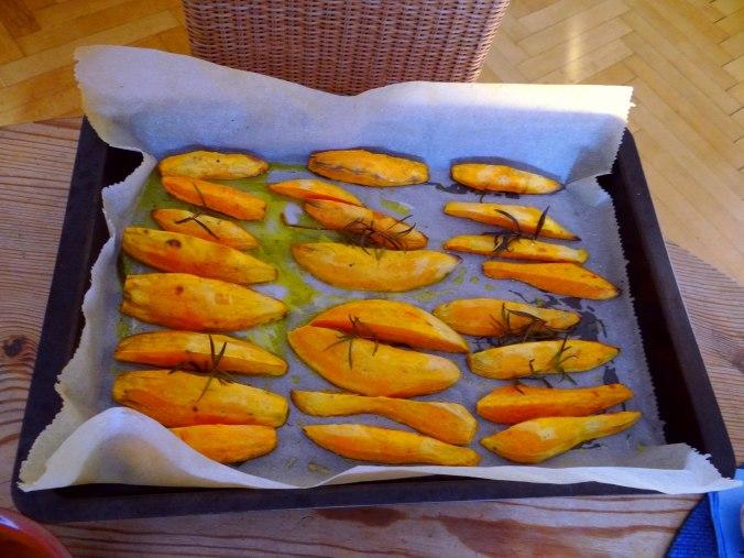 Orientalische Spezialitäten,Baba Ganoush,Süßkartoffel Pommes (15)