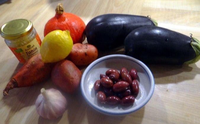 Orientalische Spezialitäten,Baba Ganoush,Süßkartoffel Pommes (5)