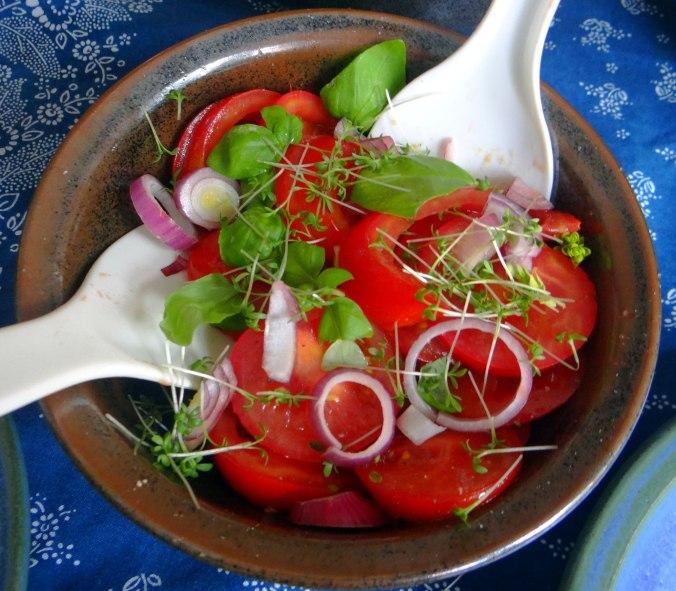 Reis,Guacamole,Pimientos,Salate,vegan (12)
