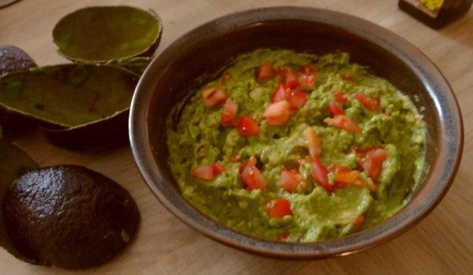 Reis,Guacamole,Pimientos,Salate,vegan (8)