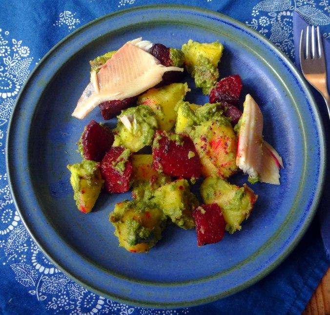 Rote Beete,Kartoffeln,Salsa, (1)