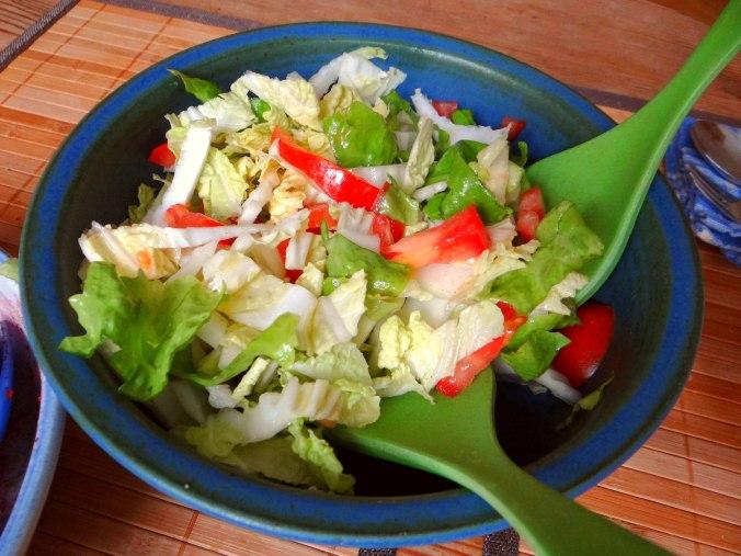 Zwiebelsauce,Speckknödel,Rote Beete Salat (13)