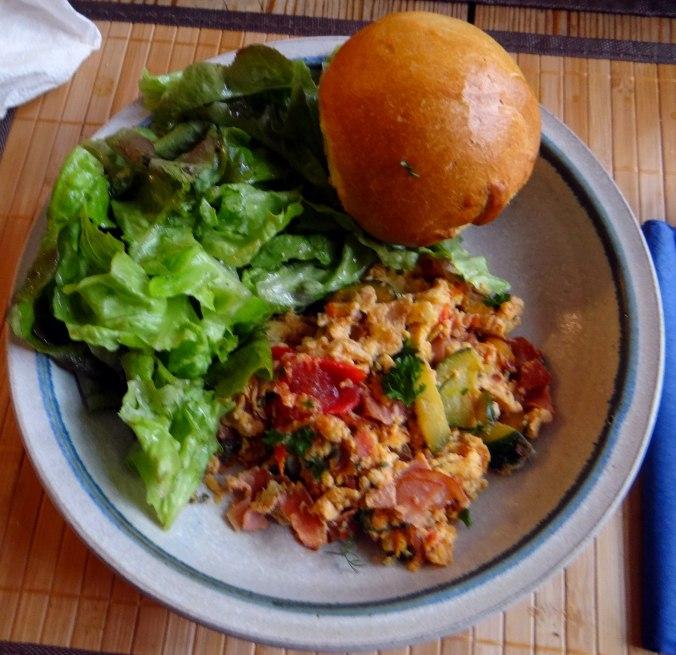 Ei,Gemüse,Schinken (1)