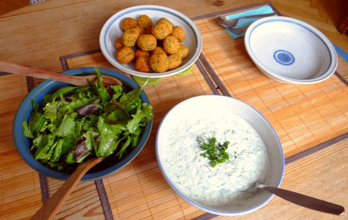 Falafel,Tzatziki,Pflücksalat (26)