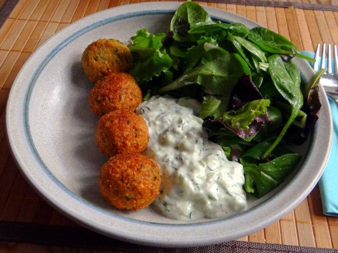 Falafel,Tzatziki,Pflücksalat (52)