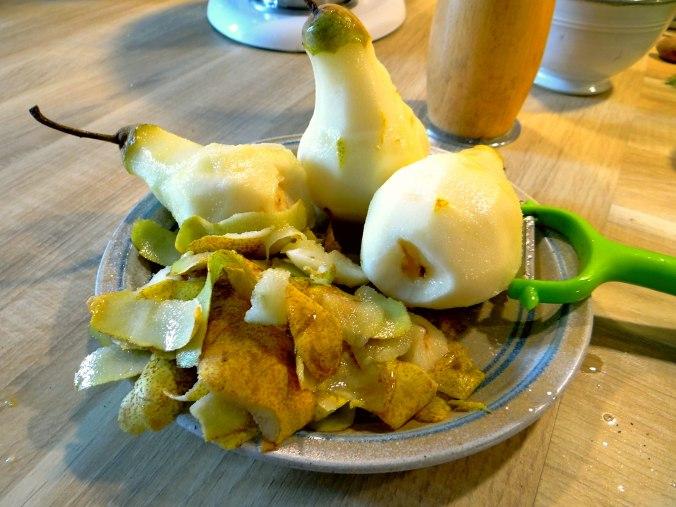 Kabeljau,Fenchel Salat,Kartoffeln,Birnen in Rotwein (16)