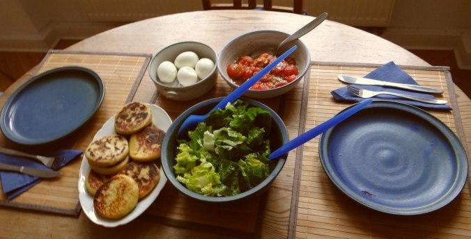 Kartoffel Taler,Ei,Salat (11)