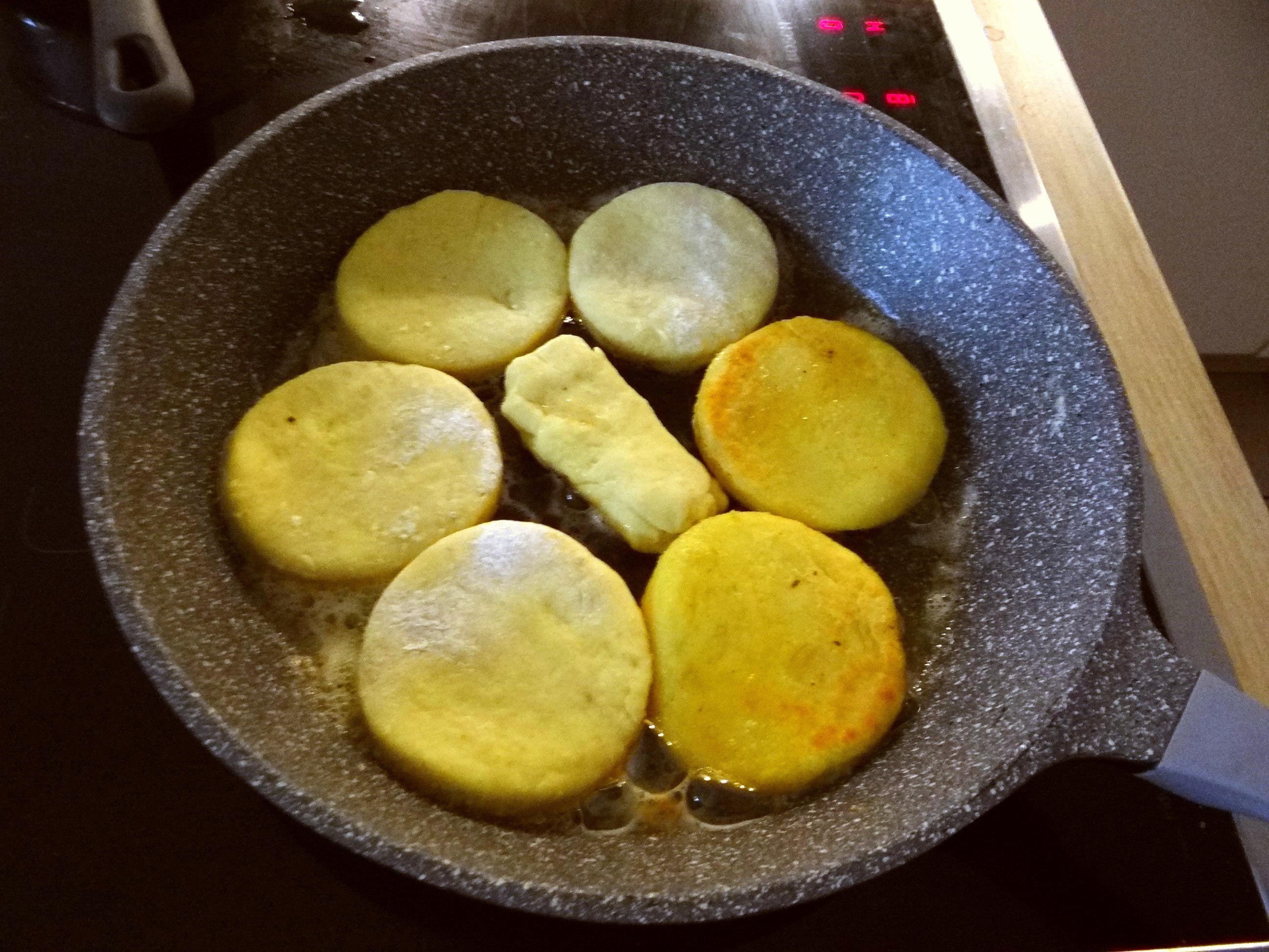 Kartoffel Taler,Ei,Salat (7)