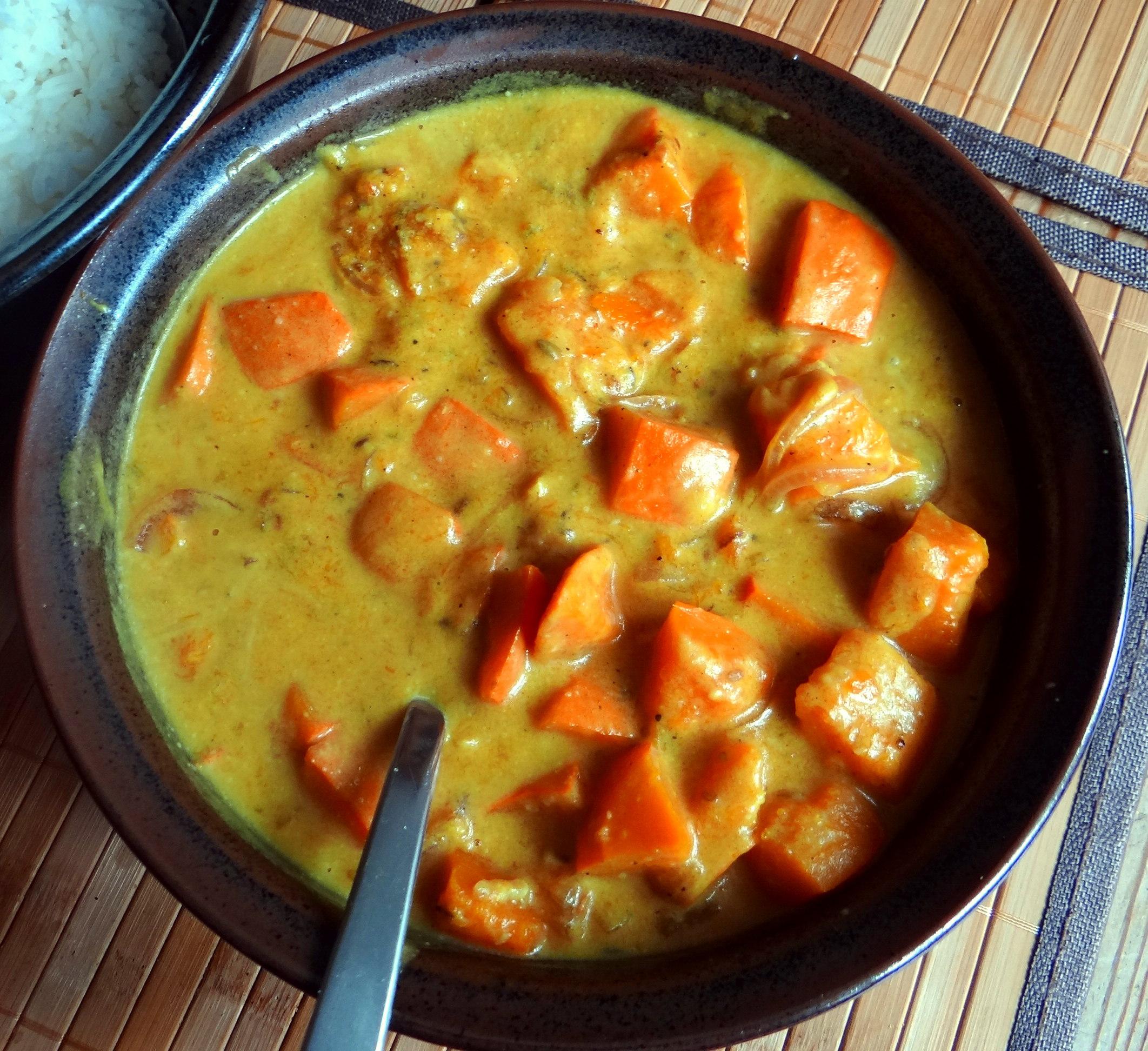 Kürbis Curry,RiiJiiBasmati Reis (13)