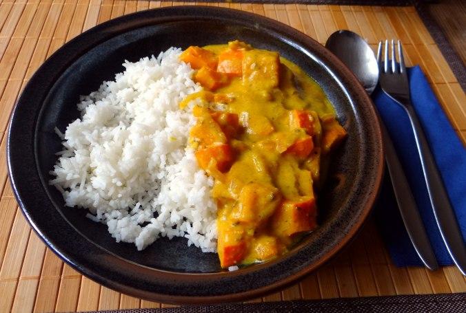 Kürbis Curry,RiiJiiBasmati Reis (17)