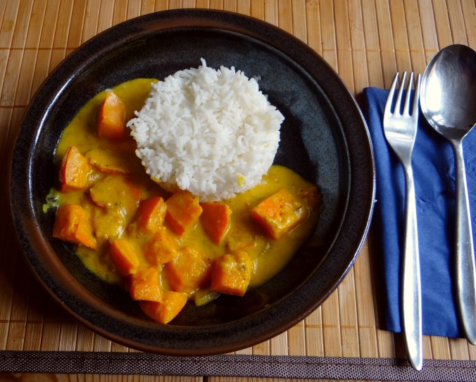 Kürbis Curry,RiiJiiBasmati Reis (19)