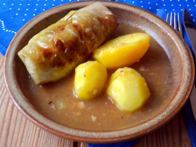 Kohlroulade,Salzkartoffel,Hollunder Pudding (20)