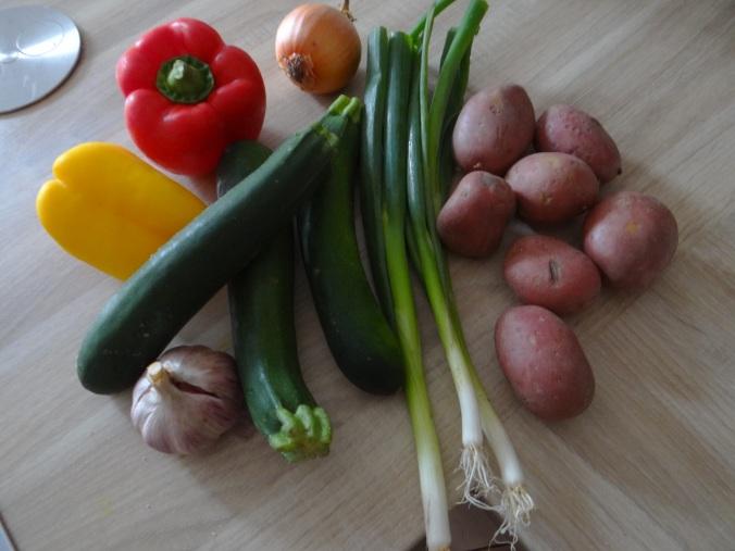 Paprika Sauce,Kartoffelstampf,Zucchini (5)