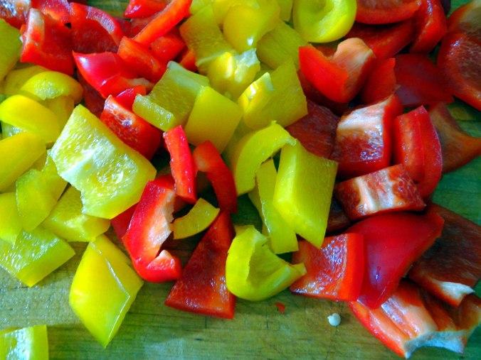 Paprika Sauce,Kartoffelstampf,Zucchini (6)