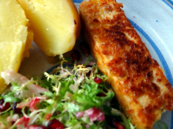 Seidentofu,Frisee Salat,Kartoffel Mix (3)