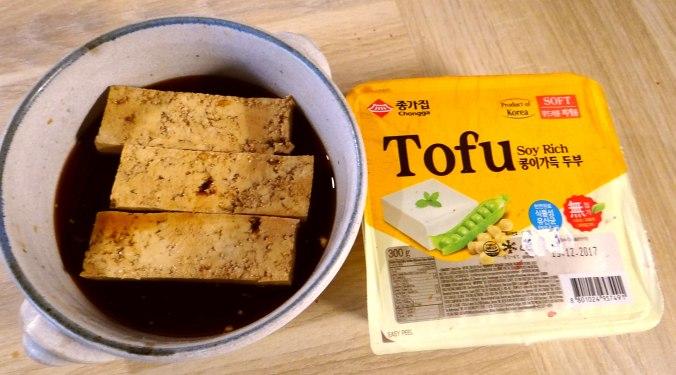 Seidentofu,Frisee Salat,Kartoffel Mix (5)