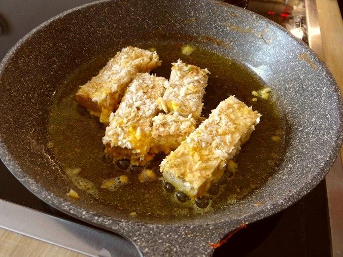 Seidentofu,Frisee Salat,Kartoffel Mix (7)