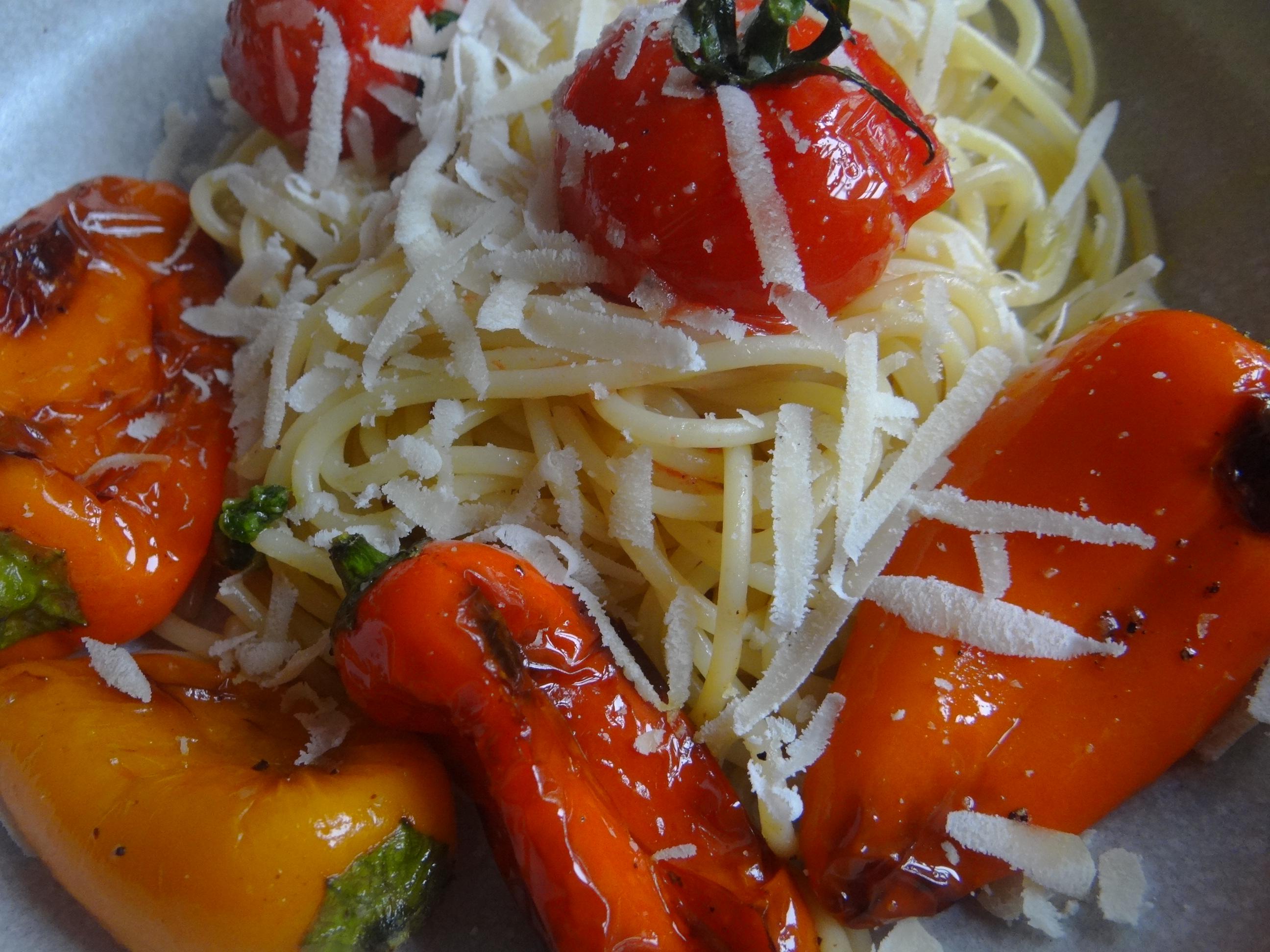 Spaghetti mit Snackpaprika (3)