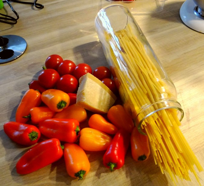 Spaghetti mit Snackpaprika (7)