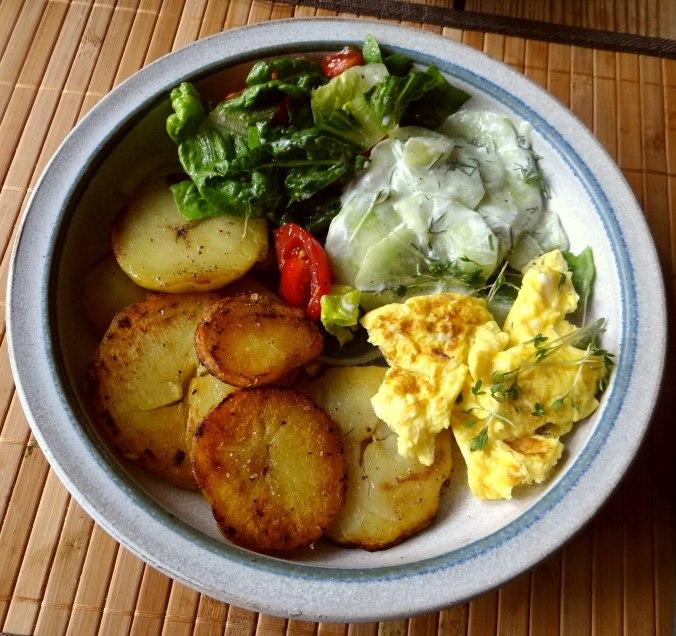 Bratkartoffel mit Rührei (1)