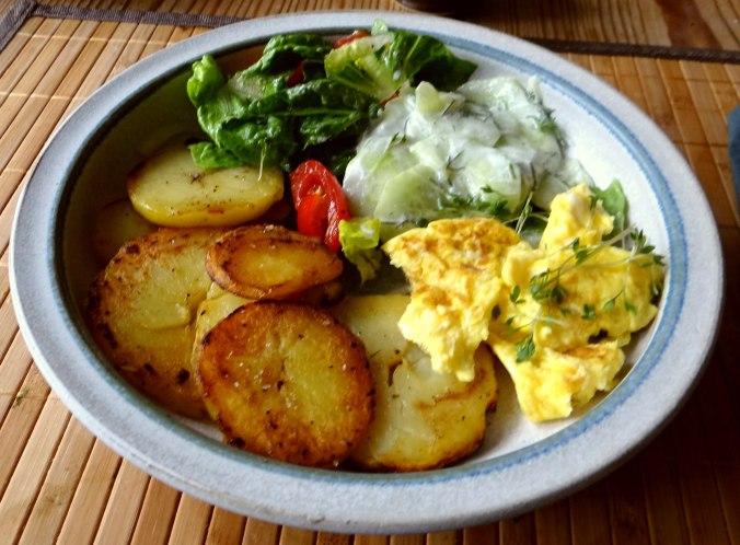 Bratkartoffel mit Rührei (2)