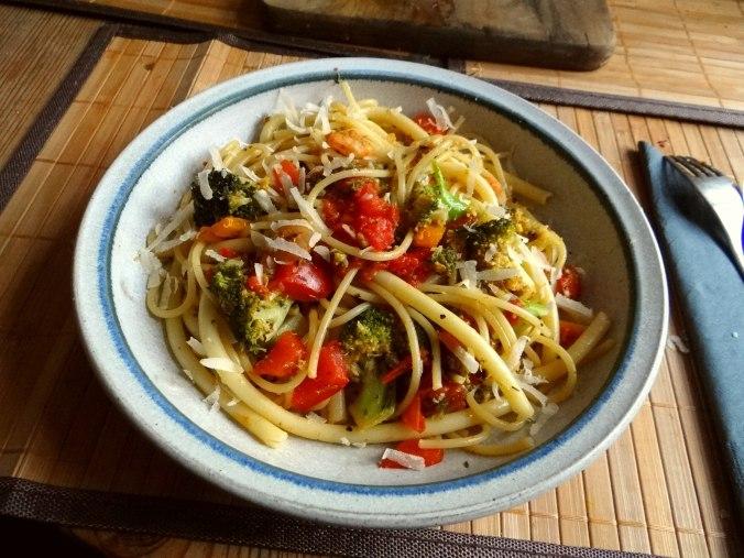 Nudeln,Garnelen,Gemüse (12)