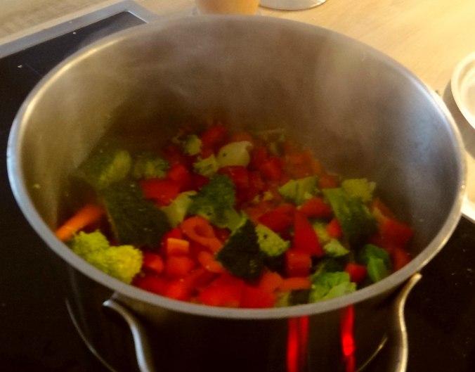Nudeln,Garnelen,Gemüse (6)