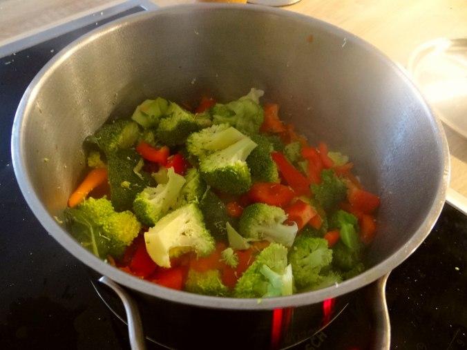 Nudeln,Garnelen,Gemüse (7)